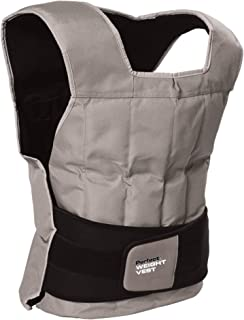 Perfect Fitness Weight Vest, 40-Pound, Grey