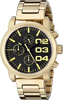 Diesel Women's DZ5467 Analog Display Analog Quartz Gold Watch