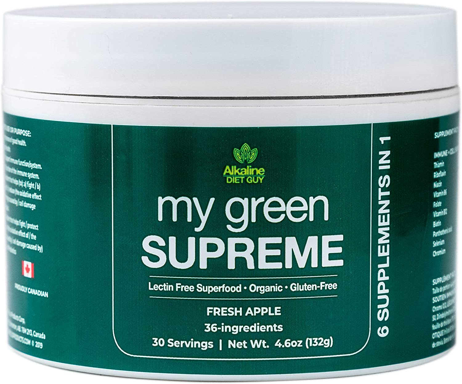 My Green Supreme Special price for a limited time Organic