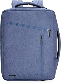 AGVA 3-in-1 Eclectic Carry Sling Case & Backpack 14.1'' (Blue)