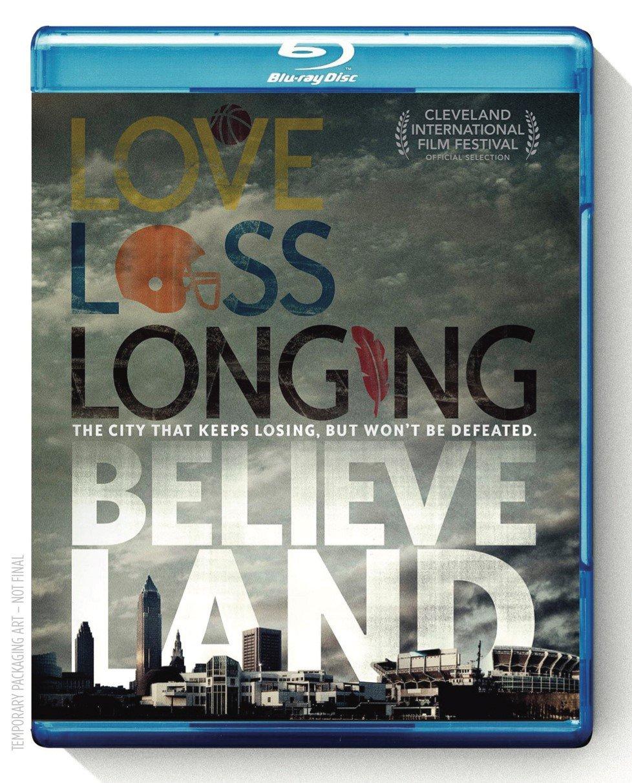 Espn Same day shipping Films 30 5 ☆ popular for Blu-ray Bluray Believeland