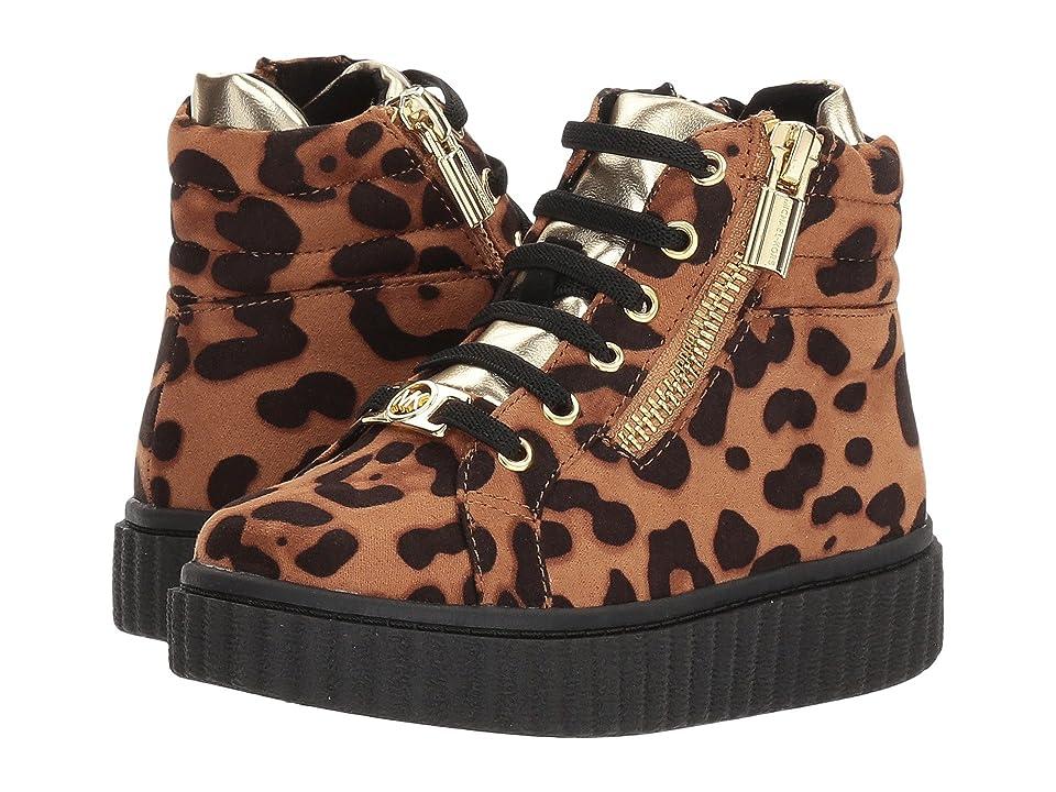 MICHAEL Michael Kors Kids Sid Leo-t (Toddler) (Gold Leopard) Girl