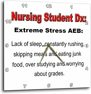 3dRose dpp_123055_1 Extreme Stress Aeb Wall Clock, 10 by 10-Inch