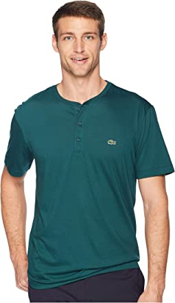 Short Sleeve Regular Fit Pima Henley
