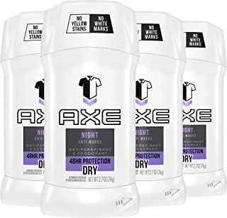 AXE Antiperspirant For Men Deodorant Stick For Odor and Sweat Protection Signature Night Mens Deodorant With 48-Hour Prote...