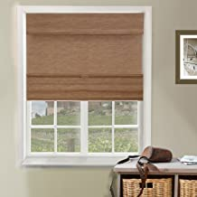 Chicology Cordless Magnetic Roman Shades Privacy Fabric Window Blind, 31