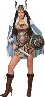 Women's Viking Vixen Sexy Warrior Costume