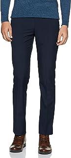 Arrow New York Men's Pleat-Front Formal Trousers