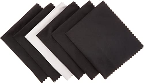 AmazonBasics Microfiber Cloths for Electronics (Pack of 6)