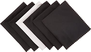 Amazon Basics Microfiber Cleaning Cloth for Electronics - Pack of 6, 6 x 7 Inches