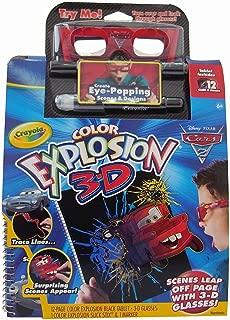 Disney Pixar Cars 2 - Color Explosion 3D Marker Set