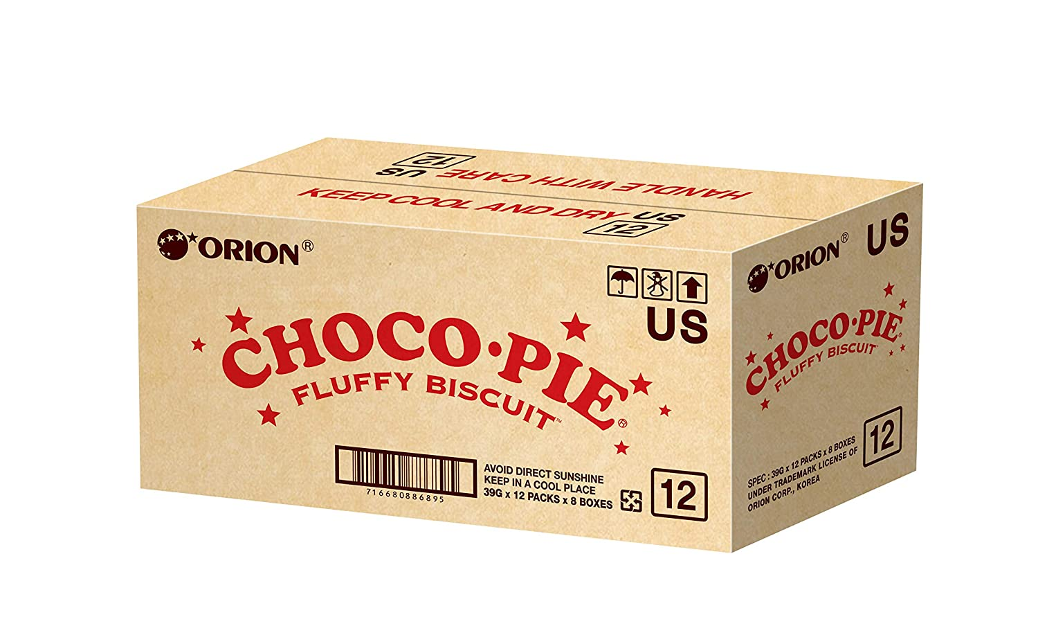 Orion CHOCO SEAL limited product PIE with Under blast sales Marshmallow Filling pack - 96