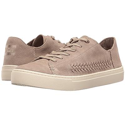 TOMS Lenox Sneaker (Desert Taupe Deconstructed Suede/Woven Panel) Women