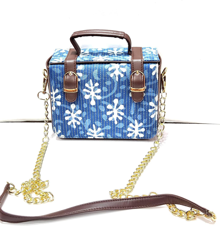 Women's Cotton Ikat Handbag Sling Bag 4