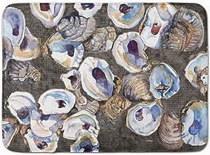 "Caroline's Treasures Oysters Floor Mat, Multicolor, 19"" x 27"""