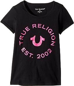 True Religion Kids - Logo Horseshoe Tee (Toddler/Little Kids)