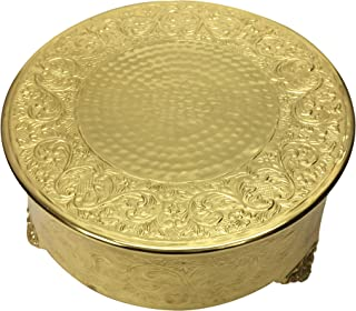 GiftBay Gold Wedding Cake Stand Round 14
