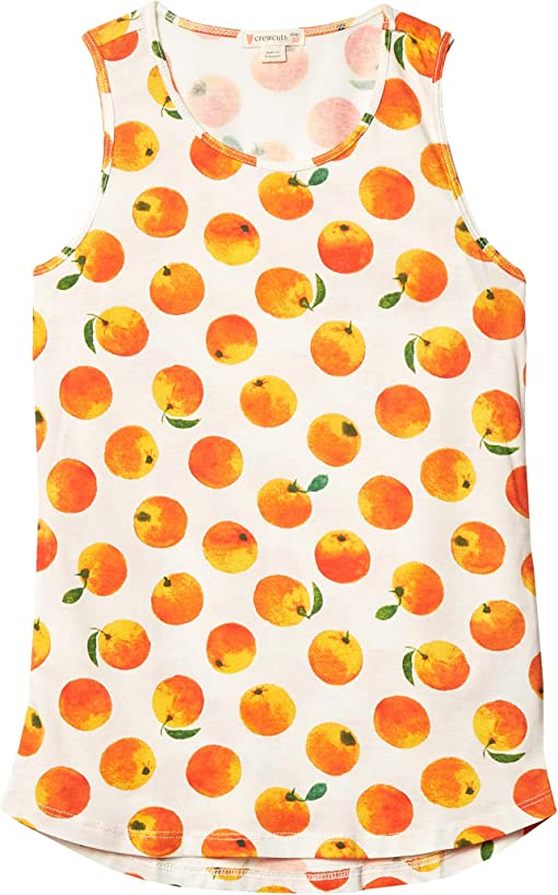 Ivory/Orange