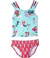 Hatley Kids - Underwater Kingdom Sporty Tankini Set (Toddler/Little Kids/Big Kids)