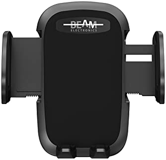 Beam Electronics Car Phone Mount Holder Universal Phone Car Air Vent Mount Holder Cradle Compatible for iPhone 12 11 ...