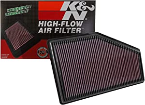 K&N engine air filter, washable and reusable:  2016-2019 Chevy/Buick/Cadillac/Holden/Opel/Vauxhall (Malibu, LaCrosse, Regal Sportback, XT4, Calais, Commodore, Insignia B, Insignia Mk2 33-5049