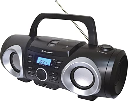 Roadstar RCR-3750UMPRD Radio CD Color Rojo