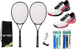 初心者向 ヨネックス ソフトテニスラケット&シューズ&グリップテープ&エッジガード&ソックス付きセット 新入生 新入部員 初心者向け