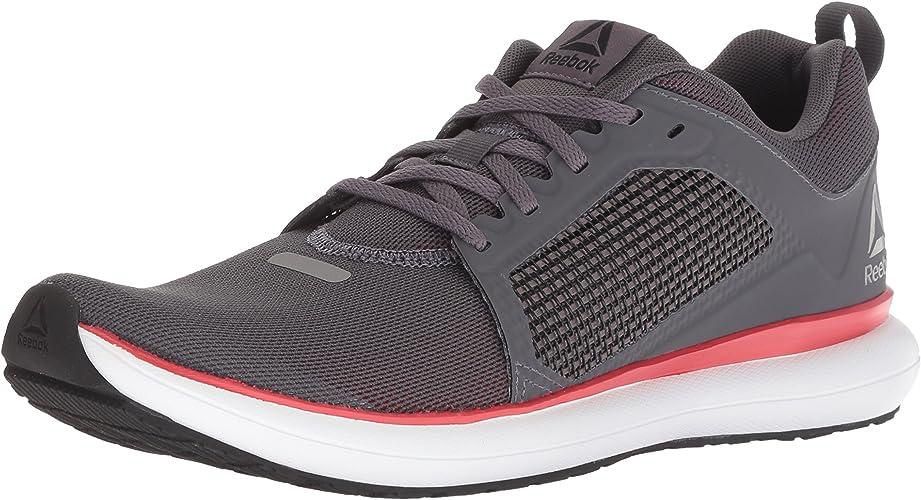 Reebok Men's Driftium Ride Running chaussures, Ash gris Primal rouge blanc, 6.5 M US