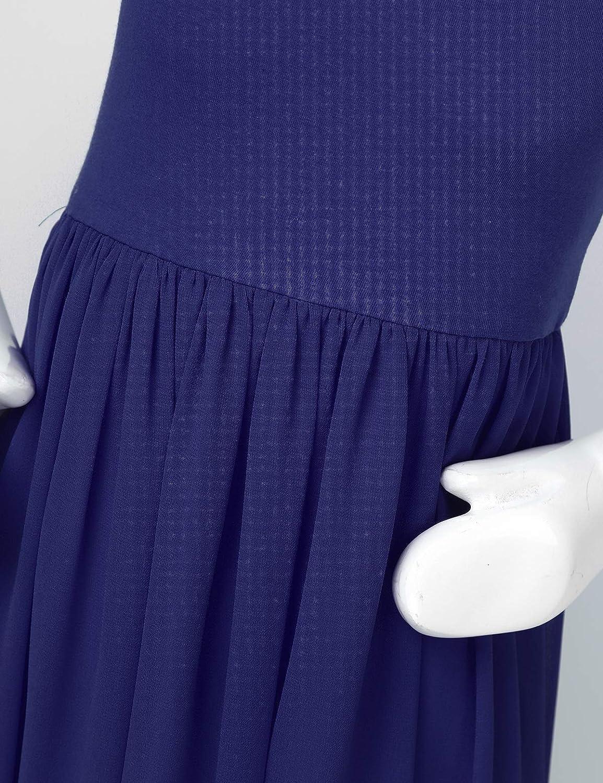 Jelory Kids Flower Girls Flowy Spaghettis Straps Dress Chiffon First Communion Pageant Maxi Dresses