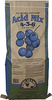 Down To Earth All Natural Acid Mix 4-3-6 Fertilizer - 25 lb 03227