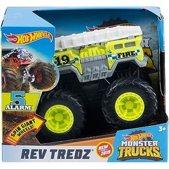 Hot Wheels Monster Truck 1: 43 Rev Tredz 5 Alarm