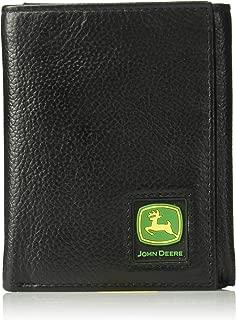 John Deere Men's Tri-Fold Wallet