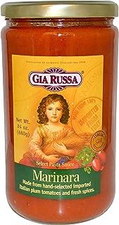 Gia Russa B04644 Gia Russa Select Marinara Pasta Sauce -6x24oz
