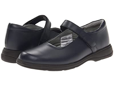 School Issue Prodigy (Adult) (Dark Navy Leather) Girls Shoes