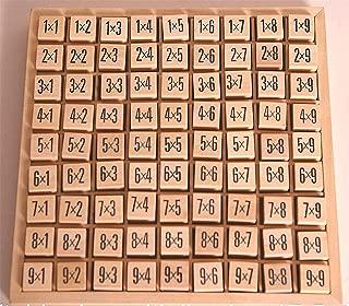 Tabelline Legno Matematica Calcolo Didattica Moltiplicazioni Tabelline Figurate