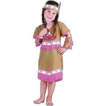 Perkins-Humatt 51064 - Disfraz de india para niña: Amazon.es ...