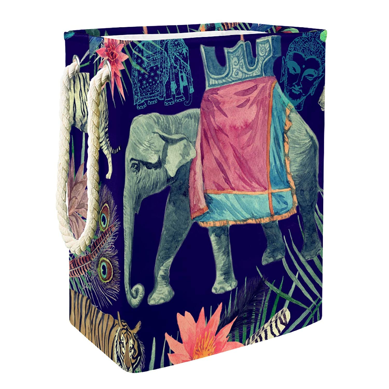 Storage Basket Retro Tiger Tucson Mall Elephant Bin Mail order Organizer Chest Orga for