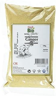 Cecil Bio - Jengibre natural en polvo, 100 g (pack de 3)