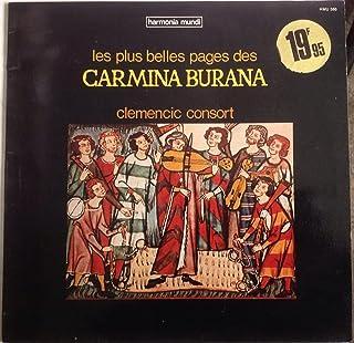 LES PLUS BELLES PAGES DE CARMINA BURANA