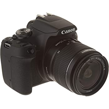 Canon CAMCNN3700 Cámara EOS Rebel T7-24.1 MP, 1920 X 1080 Pixeles, LCD de 3 Pulgadas, Negro