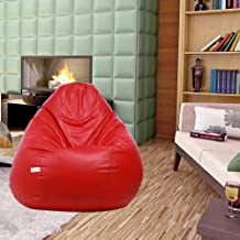 Sattva Classic XXXL Bean Bag Without Beans (Red)