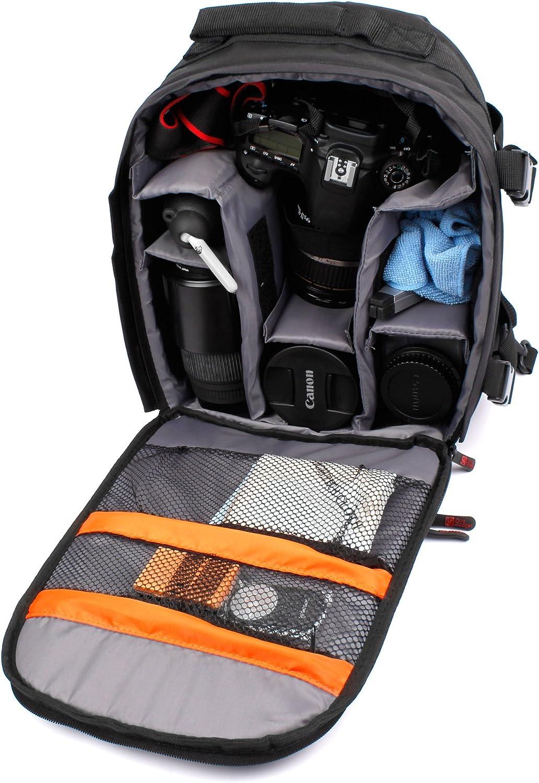 Selfie CAM Kidizoom con Compartimentos Desmontables DURAGADGET Mochila Camuflaje para c/ámara de Fotos VTech Funda Impermeable