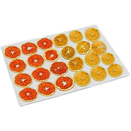 Kwasyo 10 Pièces Feuilles de Déshydrateur Carrées en Silicone Tapis de Déshydrateur Antiadhésifs pour Fruits Alimentaires Réutilisables Tapis de Cuisson en Filet à Vapeur pour Séchoir à Fruits