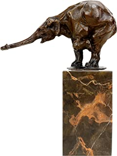 Kunst & Ambiente Begging Elephant (1908) - Signed Rembrandt Bugatti - Bronze Sculpture - Animal Figurine for Sale