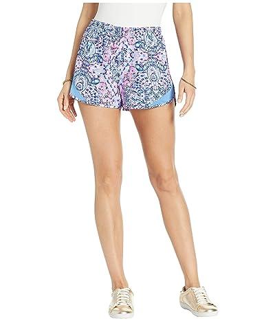 Lilly Pulitzer Ocean Trail Shorts (Pink Tropics Call My Shell Phone) Women