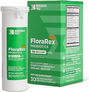 Bruno MD 2 in 1 Probiotic & Multivitamin Complex Capsule - 30 Billion C.F.U. Potency Guaranteed Until Expiration - Patented Delay Release, Shelf Stable, Ideal for Gut & Colon Health