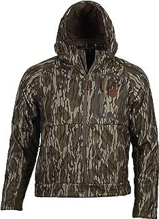 Gamekeeper Mossy Oak Fleece Lined Waterproof Harvester Jacket (Bottomland, Small)