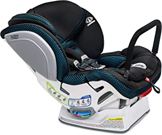 Britax Advocate ClickTight Convertible Car Seat - 3 Layer Impact Protection - Rear & Forward Facing - 5 to 65 Pounds, Cool Flow Ventilating Fabric, Teal