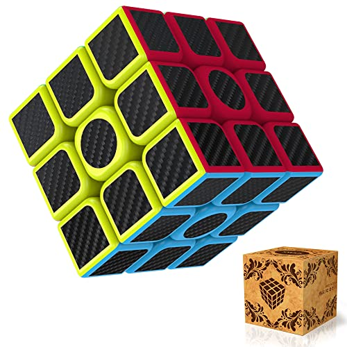Cube, Splaks Magic Cube 3x3x3 Smooth Speed Magic Cube Puzzle and Easy Turning ,Super Durable with Vivid Colors for Brain Training Game or Holiday Gift