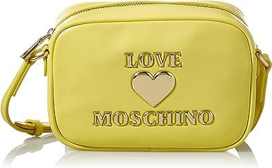 Love Moschino Ss21, Bandolera para Mujer, Color blanco, Talla única